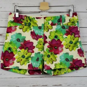 The Limited Drew Fit Size 8 Floral Shorts